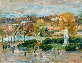 Landscape in Tours 1892