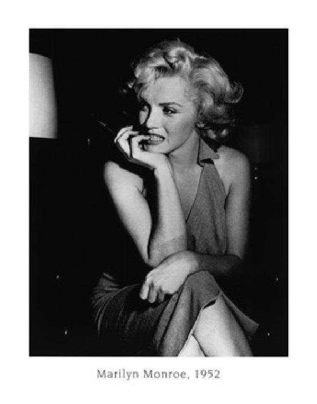 marilyn monroe 1952 bettmann als kunstdruck oder handgemaltes gem lde. Black Bedroom Furniture Sets. Home Design Ideas