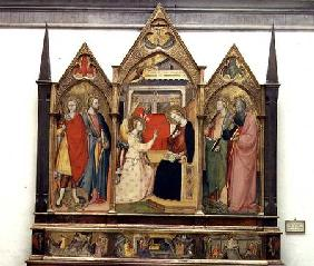 Annunciation with Saints 1414
