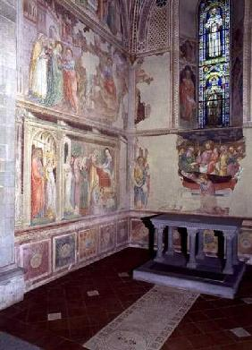 The Life of the Virgin, fresco cycle from an apse chapel 1400