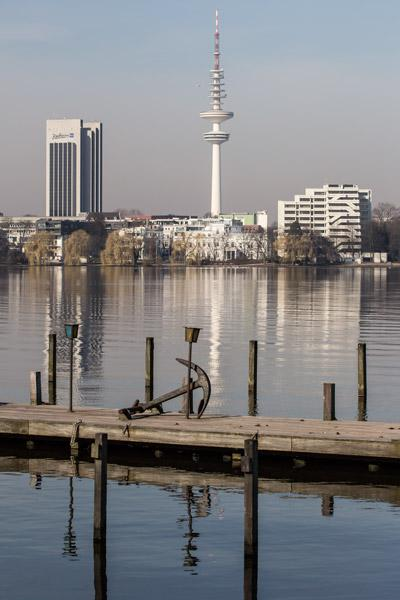 Alster am Morgen (Hamburg) 0