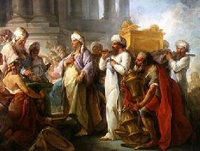 Solomon Before the Ark of the Covenant 1747