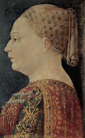 Portrait of Maria Sforza