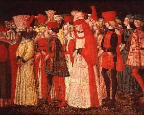People of the Court of the Sforza Family  (detail)
