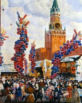 Easter Market at the Moscow Kremlin 1917