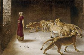 Daniel in the Lions Den 1892