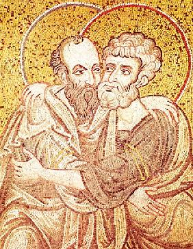 SS. Peter and Paul Embracing
