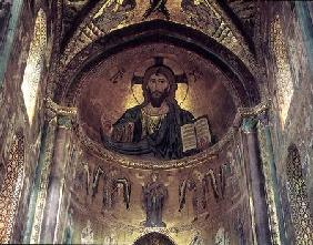 View of the apse depicting the Christ Pantocrator and the Virgin at Prayer Surrounded by Archangels 1148