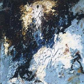 Composition en bleu 2005
