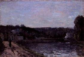The Seine at Bougival 1871