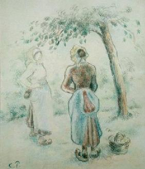 The Woman under the Apple Tree c. 1896