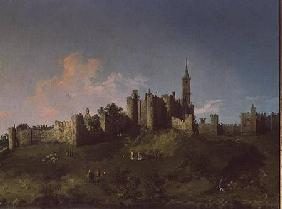 Kunstdruck von Giovanni Antonio Canal (Canaletto) - Alnwick Castle