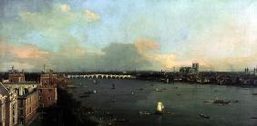 Kunstdruck von Giovanni Antonio Canal (Canaletto) - Ansicht von London