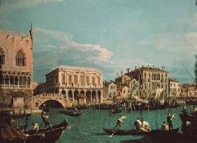 Kunstdruck von Giovanni Antonio Canal (Canaletto) - Bridge of Sighs