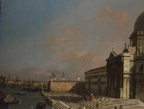 Kunstdruck von Giovanni Antonio Canal (Canaletto) - The Entrance to the Grand Canal, Venice