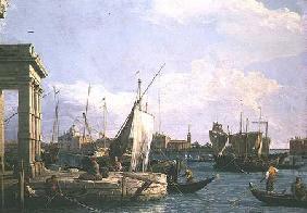 Kunstdruck von Giovanni Antonio Canal (Canaletto) - The Punta della Dogana