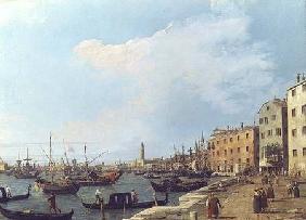 Kunstdruck von Giovanni Antonio Canal (Canaletto) - The Riva Degli Schiavoni