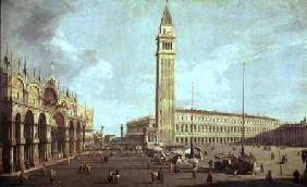 Kunstdruck von Giovanni Antonio Canal (Canaletto) - Towards St.Mark's