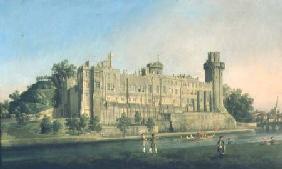 Kunstdruck von Giovanni Antonio Canal (Canaletto) - Warwick Castle