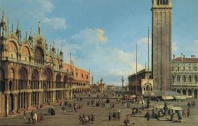 Kunstdruck von Giovanni Antonio Canal (Canaletto) - Piazza S. Marco looking South