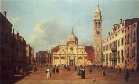 Kunstdruck von Giovanni Antonio Canal (Canaletto) - Campo Santa Maria Formosa