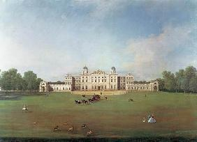 Kunstdruck von Giovanni Antonio Canal (Canaletto) - Badminton House, Gloucestershire