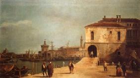Kunstdruck von Giovanni Antonio Canal (Canaletto) - Fonteghetto della Farina
