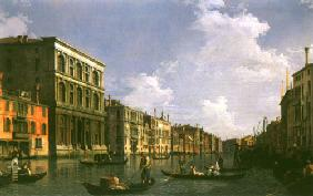 Kunstdruck von Giovanni Antonio Canal (Canaletto) - Grand Canal: looking South-West from the Palazzo Grimani to the Palazzo Foscari
