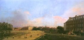 Kunstdruck von Giovanni Antonio Canal (Canaletto) - London: the Old Horse Guards from St James´s Park