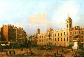 Kunstdruck von Giovanni Antonio Canal (Canaletto) - Northumberland House in London