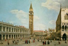 Kunstdruck von Giovanni Antonio Canal (Canaletto) - Piazza di San Marco