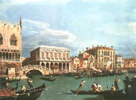 Kunstdruck von Giovanni Antonio Canal (Canaletto) - Riva degli Schiavoni