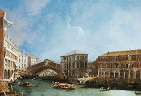 Grand Canal: the Rialto Bridge from the North 1725