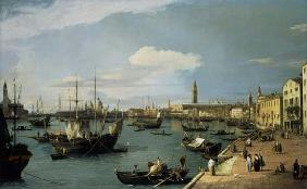 Kunstdruck von Giovanni Antonio Canal (Canaletto) - Riva degli Schiavoni looking West