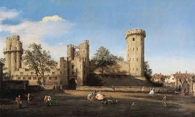 Warwick Castle: the East Front 1748-49