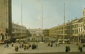 The Piazza San Marco 1738