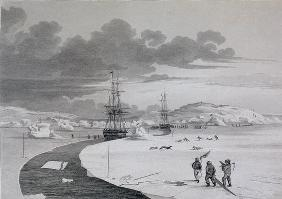 Cutting into Winter Island, October 1821, 19th
