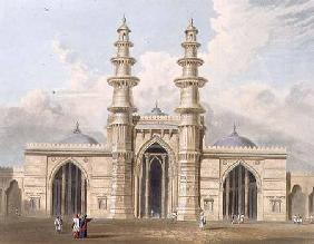 The Shaking Minarets of Ahmedabad, from Volume I of 'Scenery, Costumes and Architecture of India', e 1826