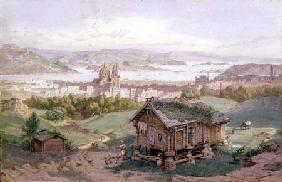 View of Christiania 1882
