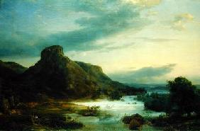 Mountains in an Evening Mist 1856