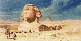 The Sphynx of Giza 1874  on