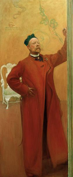 In Front of the Mirror: Self Portrait 1900