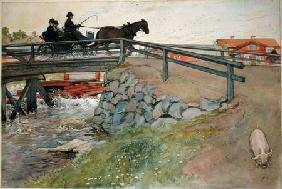 The Bridge, from 'A Home' series c.1895  on