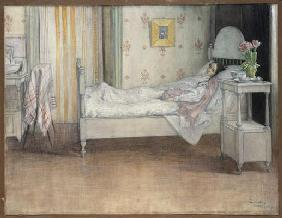 Convalescence, c.1899 (w/c on paper) 20th