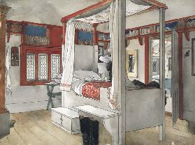 Daddy's Room, from 'A Home' series c.1895  on