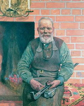 Erik Erikson, The Blacksmith 19th
