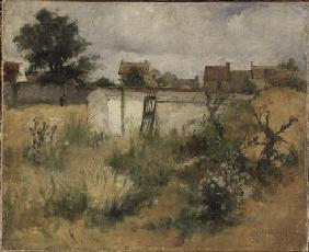 Landscape Study from Barbizon, 1878 (oil on canvas) 19th