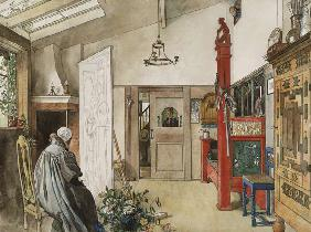 The Studio, from 'A Home' series c.1895  on