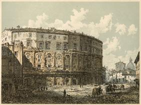 Theater des Marcellus in Rom