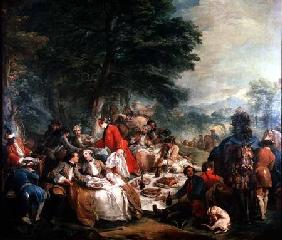 The Hunt Lunch 1737